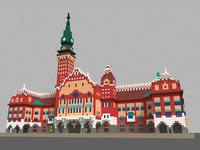 City Hall in Subotica