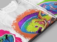 Dorado fish t-shirt