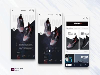 Sports Shoe Shop app