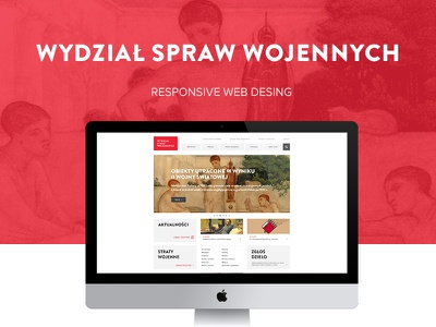 Wartime Losses Webdesign ui webdesign goverment gallery ministry culture responsive clean ux