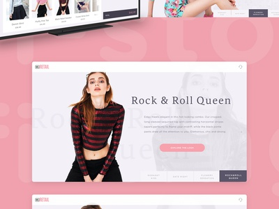 Fitting Room Screens interface fashion clothes ux touch ui shop fitting screen tv app