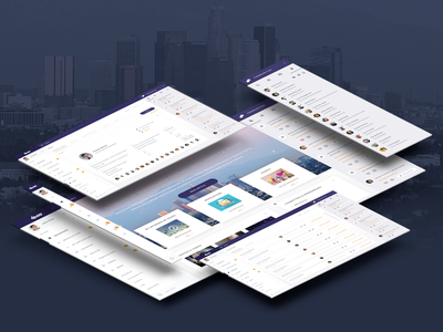 Los Angeles County DPSS Intranet Design clean web user experience design user interface los angeles minimal layout ux ui dashboard intranet