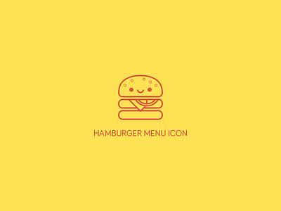 Hamburger Menu Icon. icon ui web flat menu burger hamburger fonticon design icons