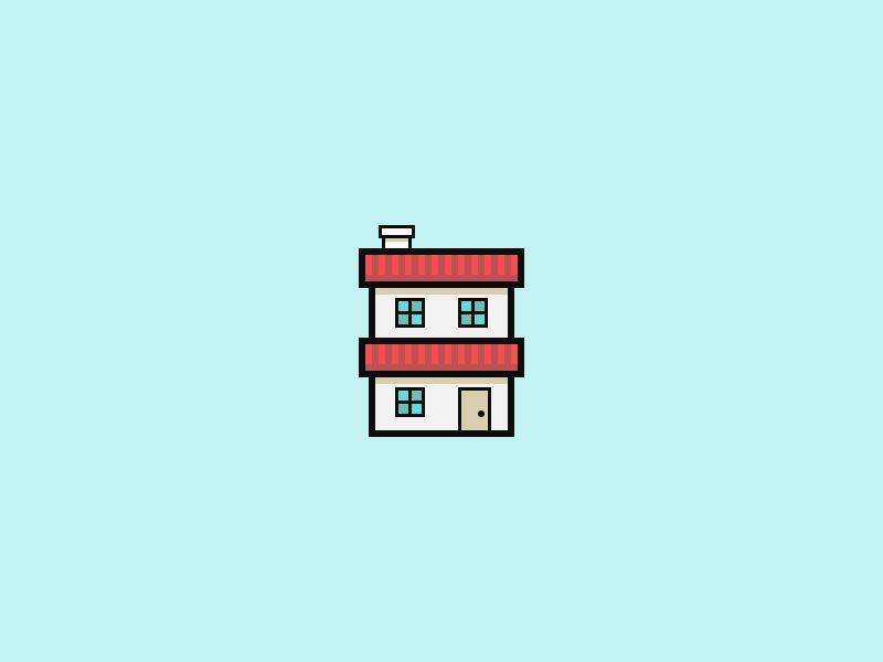 House icon dribbble