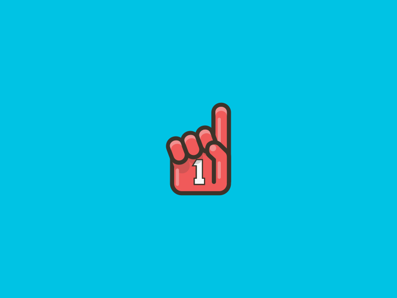 Number One. 36 Days of Type - 1 iconaday iconography graphicdesign graphic vector art outline design illustration icons 36days-1 36daysoftype
