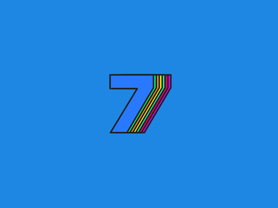 Number Seven. 36 Days of Type - 7