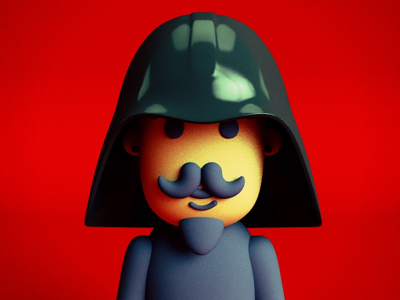 Happy May The 4th Be with You! davegamez character design darth vader graphicdesign render 3d design illustration maythe4thbewithyou selfie avatar star wars