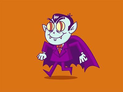 Count Dracula vector art count illustrator illustration character character design vector dracula count dracula halloween