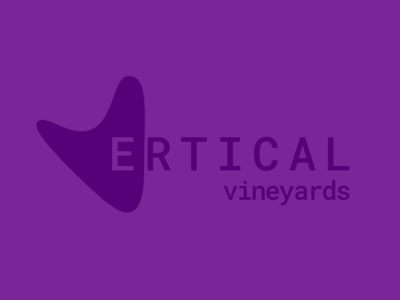 Vertical Vineyards colorfuldots colorful dots illustration design branding minimal colorful dots llc wine logo concept