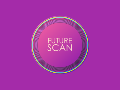 Future Scan colorful dots llc concept colorful dots colorfuldots branding logo