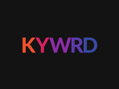 KYWRD relationships kywrd design colorful dots llc colorful dots colorfuldots branding logo