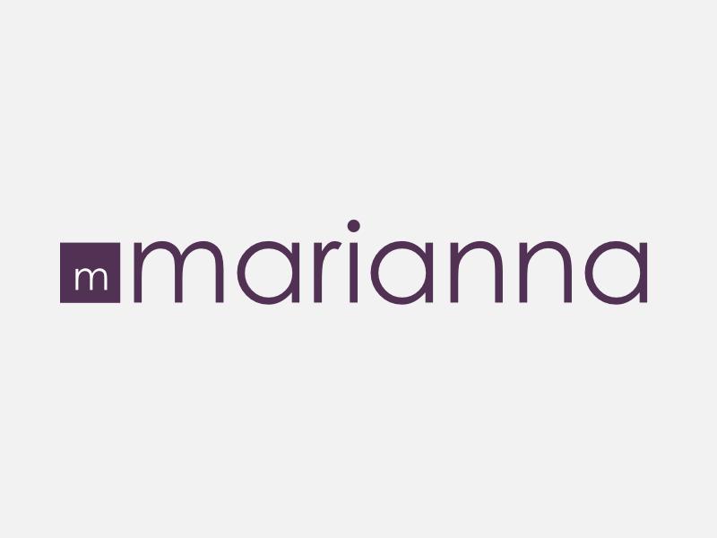 Marianna colorful dots llc minimal concept colorful dots colorfuldots branding logo