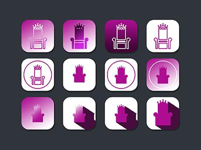 "Daily UI #005: App Icon - ""PurpleThrone"""