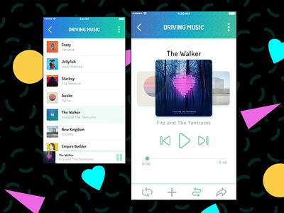 UI Design Exercise - Music Player