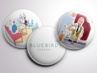 Bluebird Pins - Design Challenge