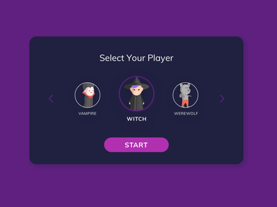 Daily UI#064 - Select User Type icon 064 games select select user type challenge ui design dailyui