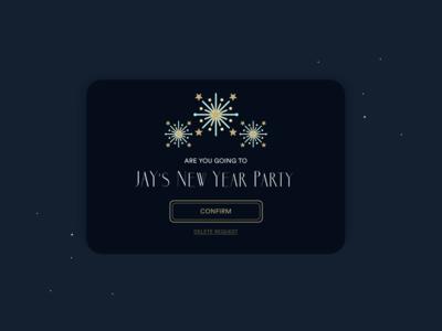 Daily UI #078 - Pending Invitation