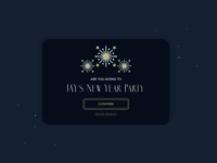 Daily UI #078 - Pending Invitation