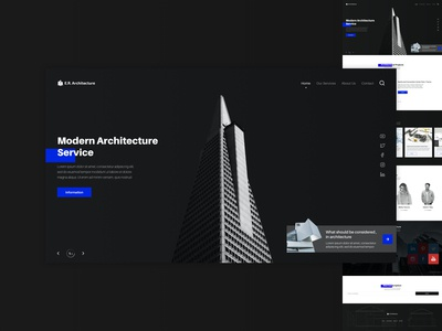 Architecture Office WebSite