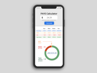 Daily UI #004 - PAYE Calculator