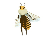 A Bee!