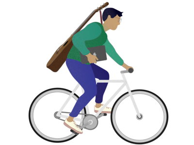 biking untextured