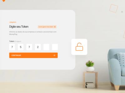Access Token Web App Concept