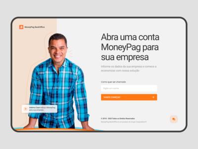 Finance Web App Concept