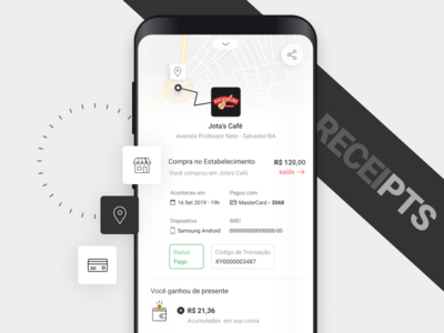 Finance Receipts app
