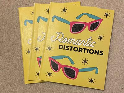Romantic Distortions Magazine editorial illustration editorial design magazine illustration magazine design magazine cover