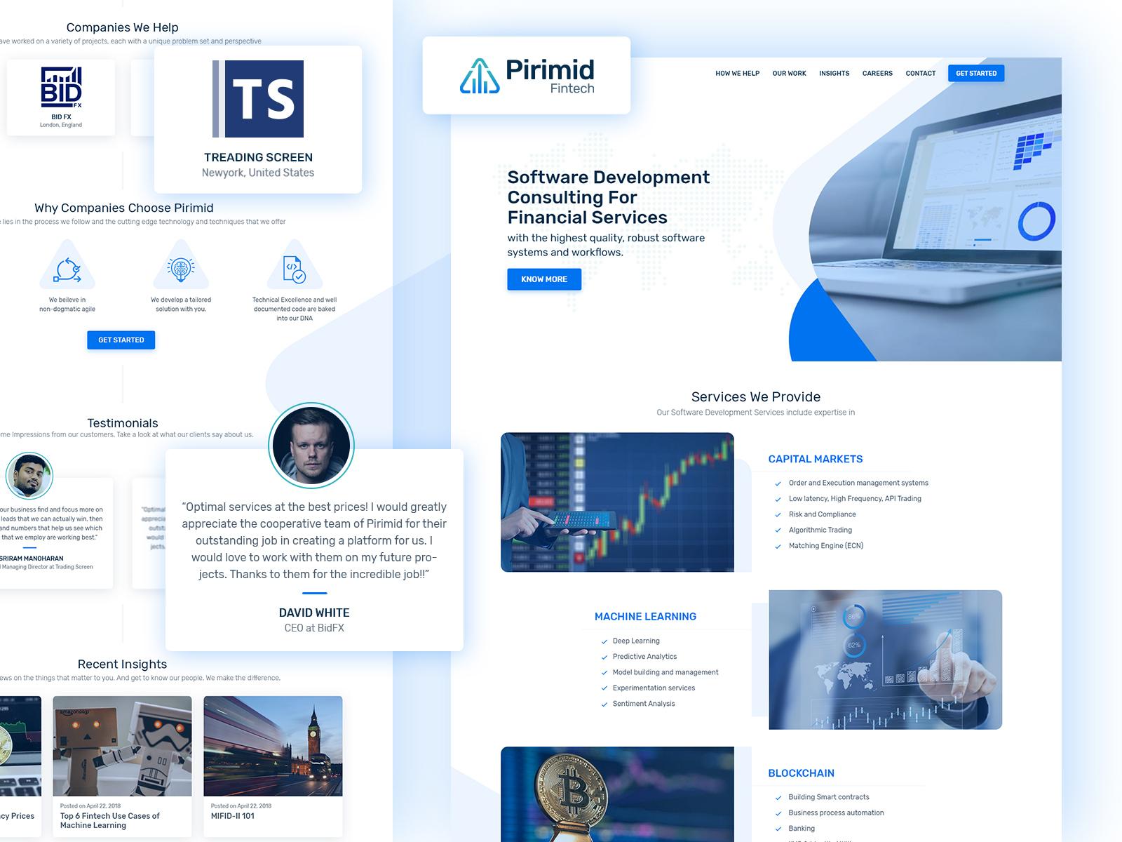 Pirimid fintech web
