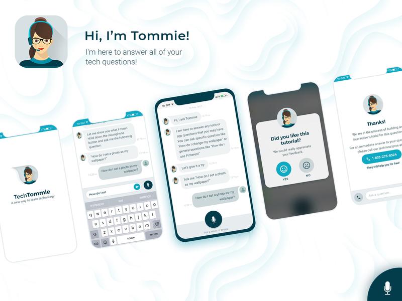 TechTommie - A Smart Digital Assistant App