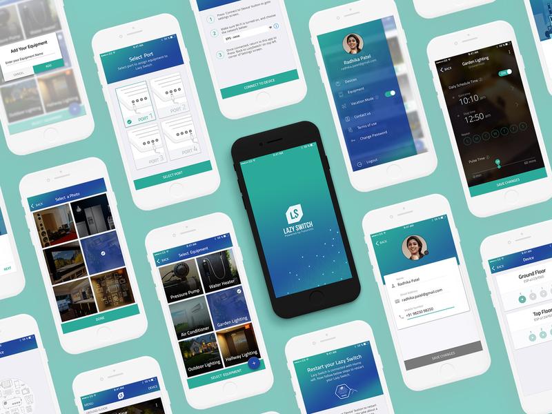 LazySwitch - Mobile UI & UX
