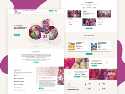 Chetna - NGO Website Redesign