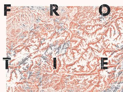 Frontières illustration poster border