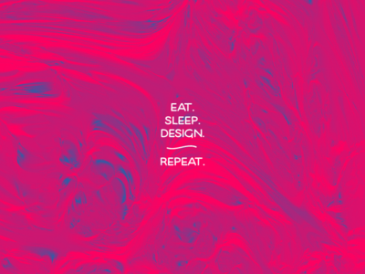Abstraction — No. 01 eat sleep design repeat photoshop illustrator exploration abstract