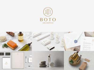 BOTO Shampoo brand design