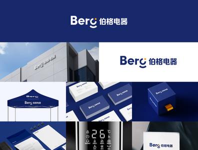 Berg Electrical brand design