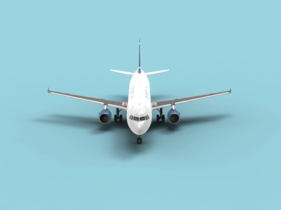 Fofly A320 aircraft