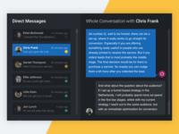 Community Management Nightmode – Conversation