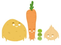 Veggies buddies