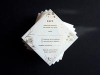 RSVP Cards / Wedding Stationery for D&G
