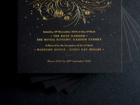 Wedding Invitations for D&G