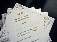 Wedding Stationery for D&G