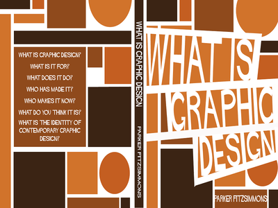 What Is Graphic Design? graphic design book cover saul bass shapes