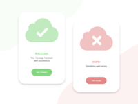 Daily UI :: 011 - Flash Message