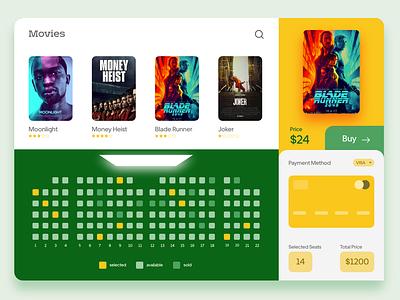 movie booking shot design ux ui movie movie ticket cinema booking app app