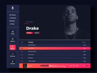 Music desktop ui