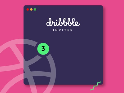 Dribbble Invite invite giveaway invite vector debut shot design ux ui