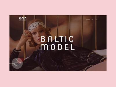 Model agency design concept